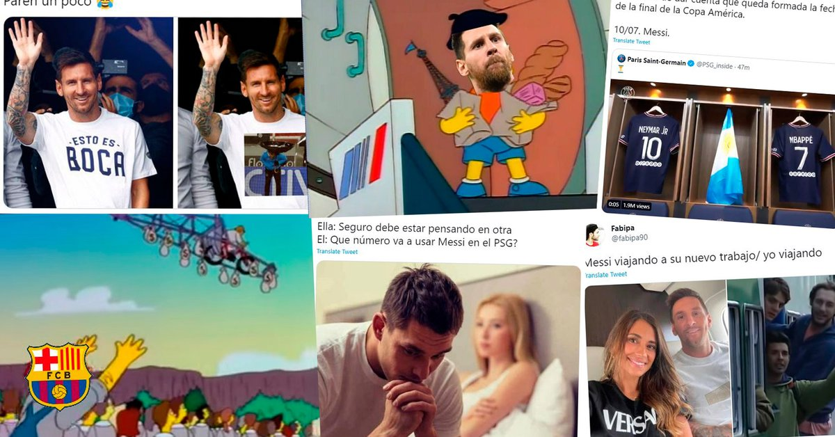 The best memes of the arrival of Lionel Messi to PSG: his themed shirt, the number he will wear and the coverage of Christian Martin
