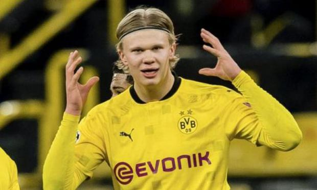 Erling Haaland hinted that he will not be leaving Borussia Dortmund this season. (Photo: Getty Images)
