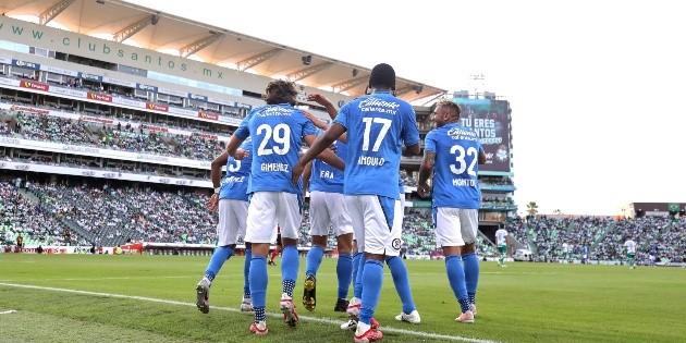 The cracks return Cruz Azuls probable XI to face