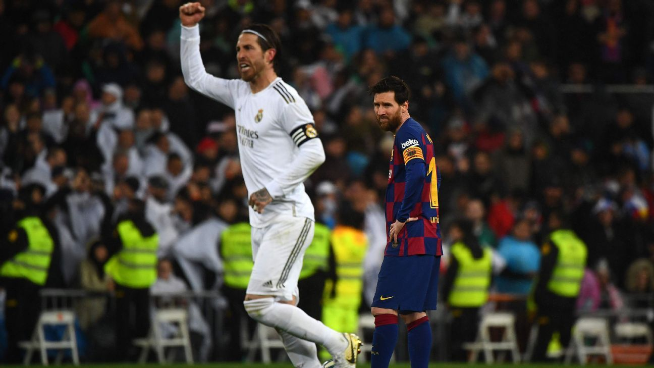 The departure of Messi and Ramos overlaps a light market