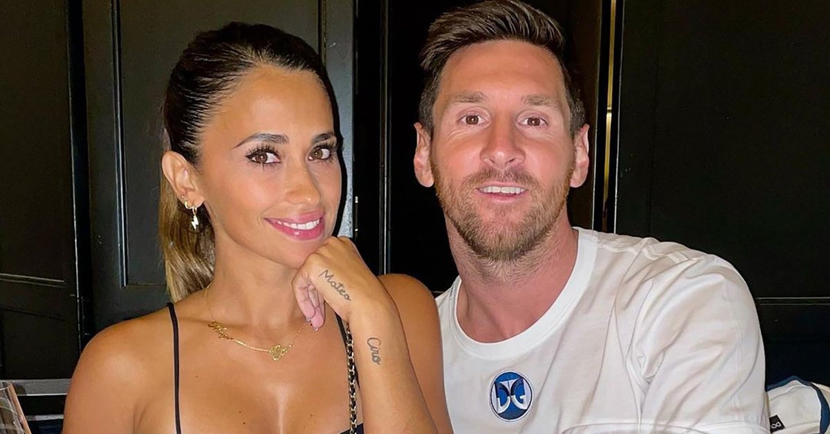 The photo of the departure of Lionel Messi and Antonela Roccuzzo that generated a furor in the networks
