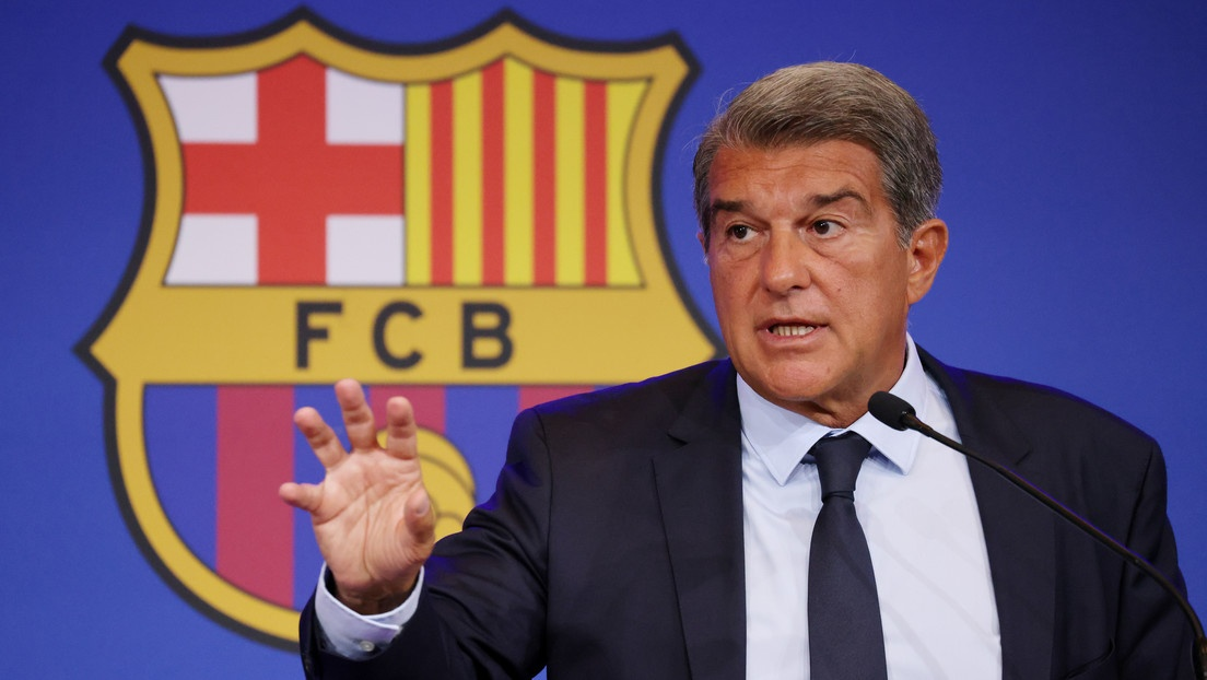 The president of FC Barcelona reveals the clubs millionaire debt