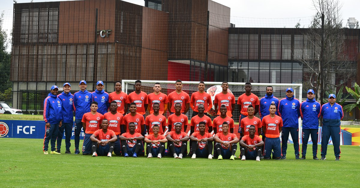 These are the 23 summoned of the Colombian team for