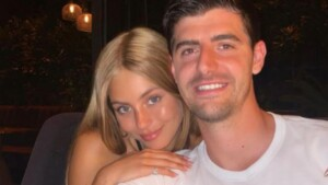 """Thibaut Courtois declares himself in networks to Mishel Gerzig: """"The love of my life"""""""