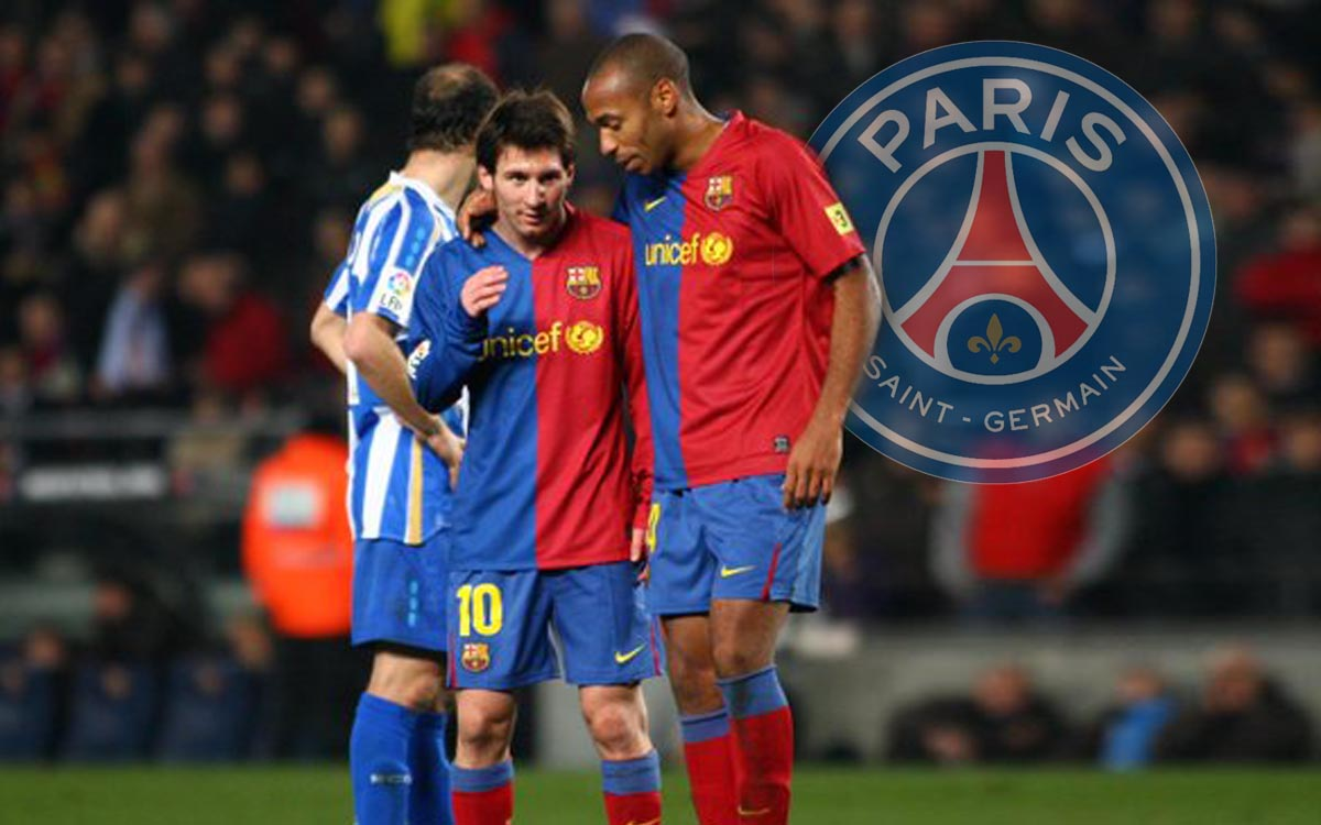 Thierry Henry warns PSG of the risk of having Messi