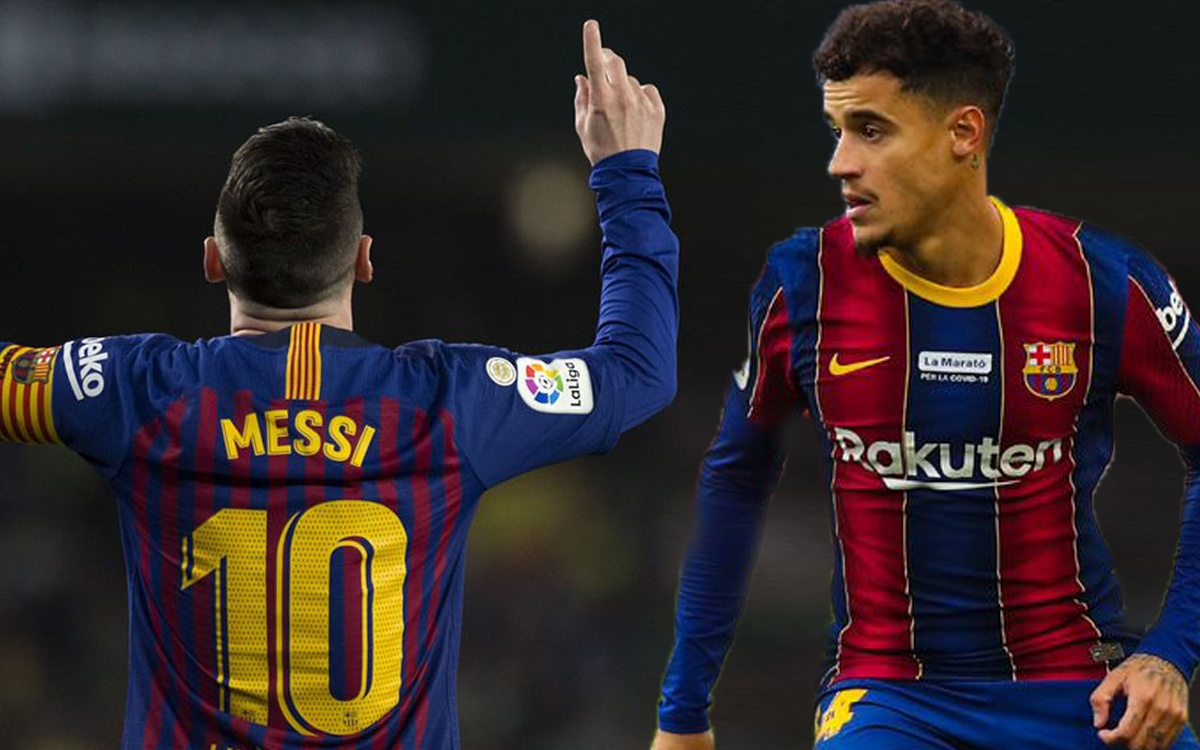 This is the way in which Coutinho could inherit Messis