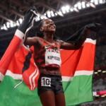 Tokyo 2020 recap: Faith Kipyegon wins gold sets track and field record
