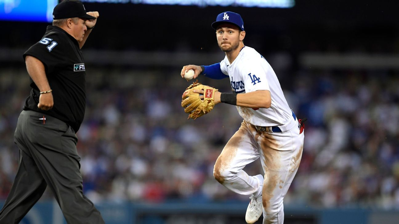 Trea Turner ready with Dodgers after stressful two weeks