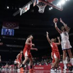 USA beats Japan and wins gold in women's basketball