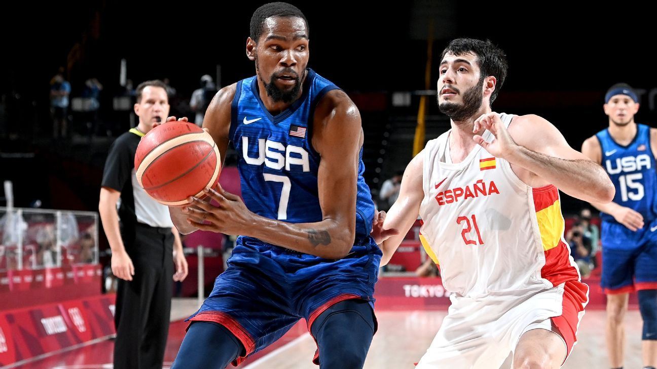 USA to the basketball semifinals eliminate Spain