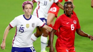USWNT has won gold every time they face Canada at Olympics