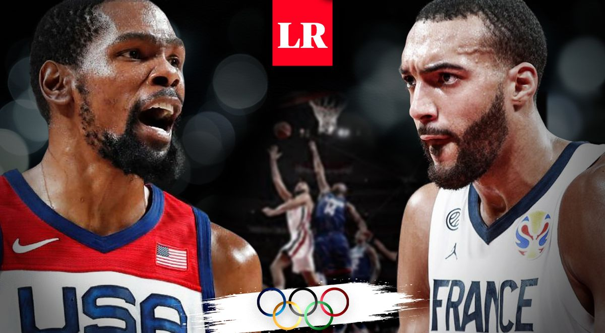United States vs France LIVE Olympic Games Tokyo 2020 men's basketball final channel time where to watch basketball Olympics Tokyo 2021 via Marca Claro Sports