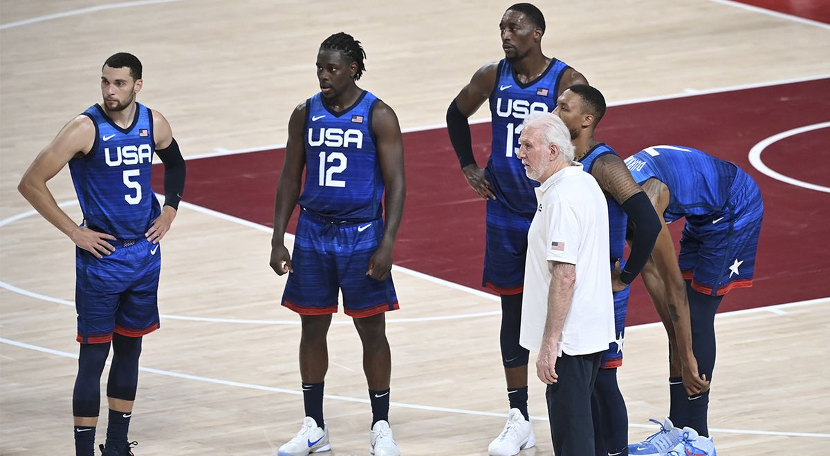 United States vs France basketball final Tokyo 2020 day time