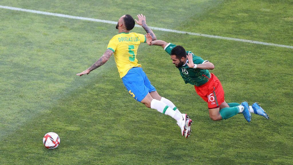 VAR removed penalty in favor of Brazil Rizo Shame on