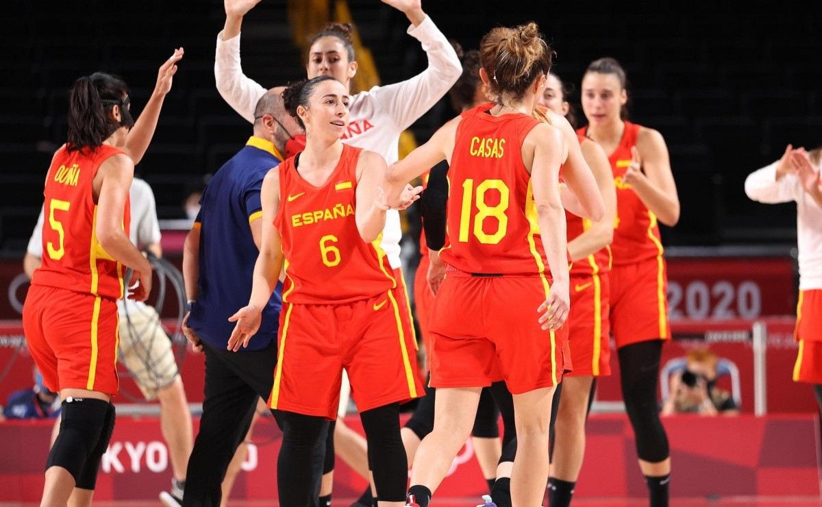 Valuable triumph for Spain in the womens basketball of the