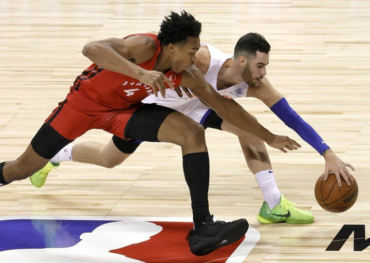 Vildoza and Scottie Barnes in the duel for the Summer League in Las Vegas (AFP photo)