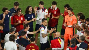 What was missing for Spain to win gold in Tokyo