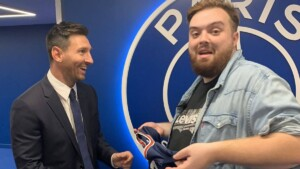 What's the story behind Ibai's interview with Messi?