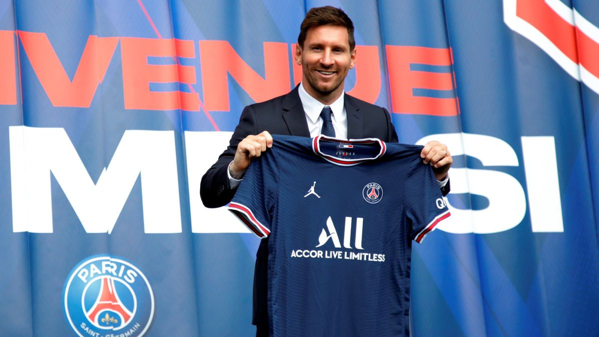 Where can Messis debut with PSG be seen on TV