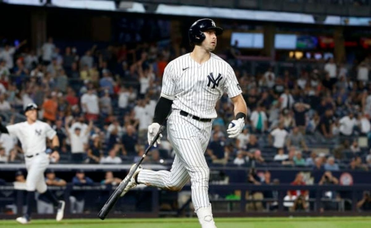You already answered! Joey Gallo thunders his stick and hits first home run with Yankees